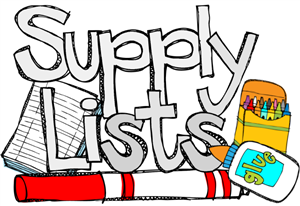 School Supply List 2017-18